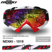 Men Woman Protected MX Moto Motorcycle Goggles with tear off systems