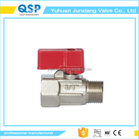 Junxiang forged NPT threaded connection full port gear operated type ball valve