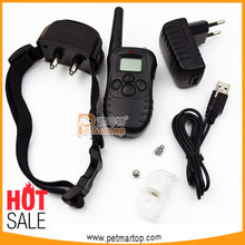 TZ-PET998DR rechargable & waterproof remote control dog training collar