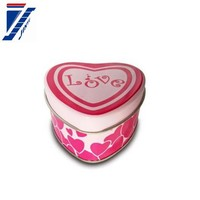 cake base for sale,0.23mm tinplate material ,tin box heart shape tin can