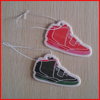 Yeezy shoes car paper air freshener strawberry and cherry