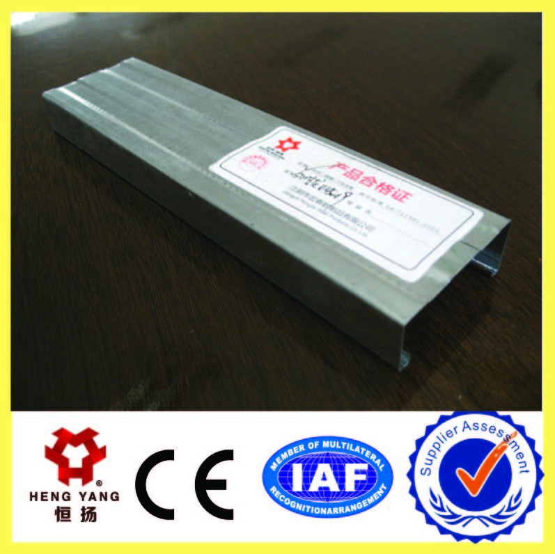 hengyang furring channel galvanized steel light steel keel for ceiling suspend system