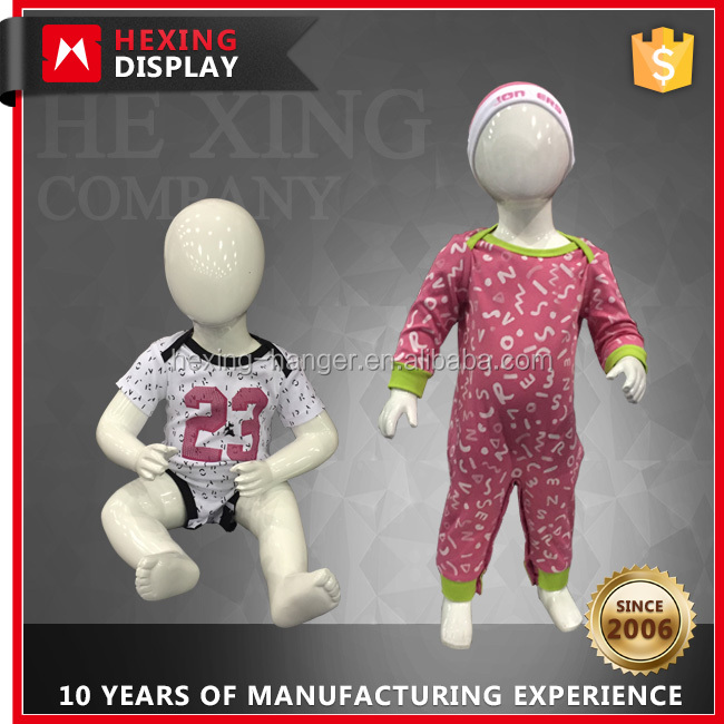 1 Year Old Stand Sitting Baby Child Mannequin