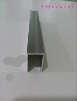 Aogao p-13 u shape aluminum channel