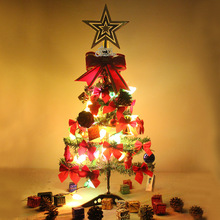 Christmas gift products Acrylic christmas tree decoration,60cm small christmas tree with light