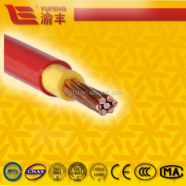 PVC Insulated Electrical / Power Cables house wiring electrical cable