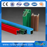 Various surface treatment 6063 t5 aluminum extruded profiles