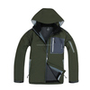 Mens Good Designed 3 Layers Bonded Waterproof Softshell Jacket