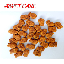 Mini Fish Shape different flavor pet chews natural dog biscuit