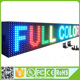 4096 dots costomized 7 color p10 DIP outdoor led display board