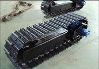 Heavy equipment spare parts mini crawler undercarriage