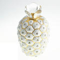 Ceramic Gift Decorative Gold Pineapple Figurine Made With Swarovski Elements V1065-0610-1