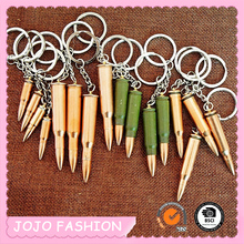 Imitation bullet casings keychain