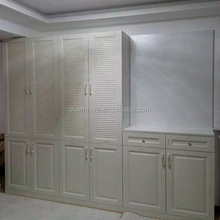 China custom made cheap closet wardrobe , wooden bedroom wardrobe designs