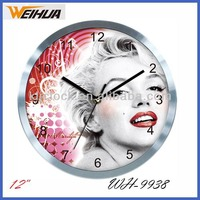 Metal Gear Clock WH-9938 Wedding Gift Wall Clock Special Design Wall Clock Sale