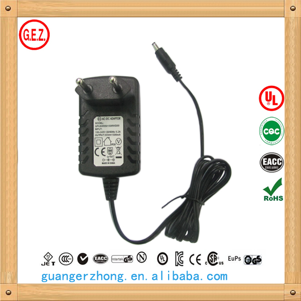 ac dc adapter 5V 2.5a power supply charger
