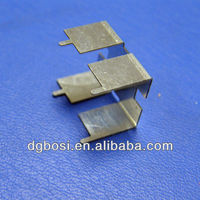 China Metal Stamping Battery Contact Clip (Bosi-F-2256)