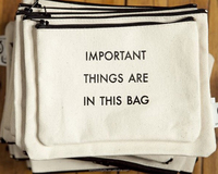2016 Factory Wholesale funny canvas washing bag