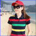 100%cotton polo tshirt bulk wholesale for women sport sexy tshirt in china