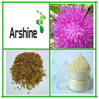 Chinese herb medicine milk thistle extract,Medicinal plant Milk Thistle P.E.