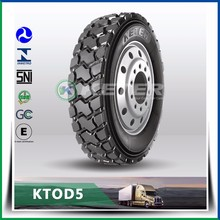 High quality second hand truck tyre 1000R20 KTOD5