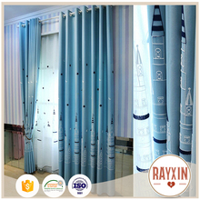 Best sale modern design embroidery turkish curtains for living room