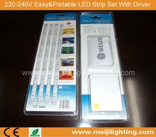 2012 Hot!! LED Easy&Portable Flexible Set Strip Light(Super Market Sales)