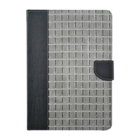 Classic Style Grid pattern holster for ipad2/3 /4/5/6 stand designer case for ipad