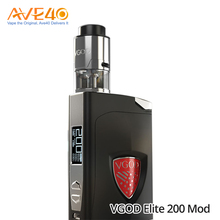 New Hot Products Vapor Starter Kits Express 200W Output Wattage VGOD Elite 200 Box Mod Powered By 18650 Battery