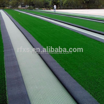 Get Your Free Sample! Synthetic Turf system XPE SHOCK PAD/UNDERNEATH with unique water drainage holes for Soccer/Football field
