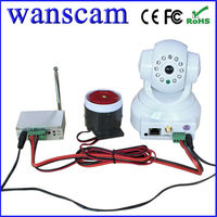Wireless Home Alarm System Wifi IP Camera, Remote Controller, PIR Sensor Alarm System Kits