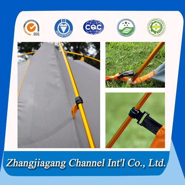 flexible telescopic aluminum tent pole for camping