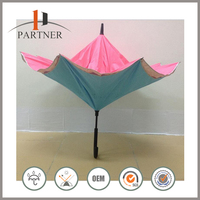 2016 Cheapest Wholesale Inverted Folded Umbrella Manufacturer