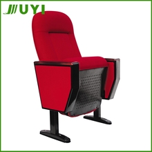 JY-605R Price 4D Portable Cover Fabric Used Wedding Folding Cinema Chairs Used Chair For Church Antique Theater Seats