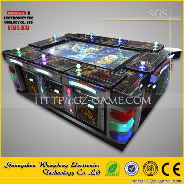Ocean monster plus ---high return Dragon Hunter arcade catching fish game machine for sale
