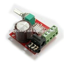 Mini Digital Amplifier Module 10W+10W Class D 2 Channel Audio Amp DIY DC 12V
