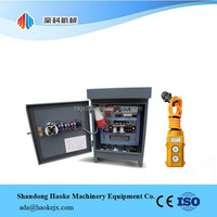 Control Panel Box for Window Cleaning Gondola