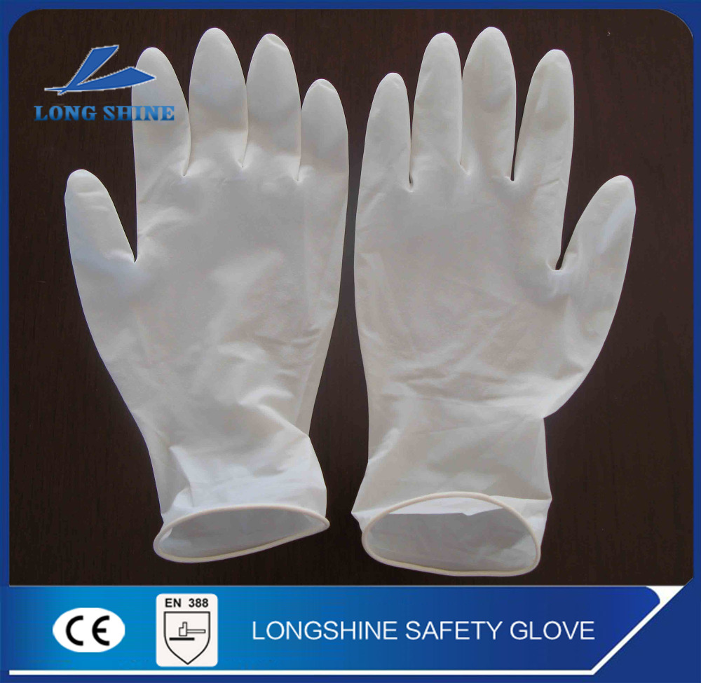 Cheap Disposable Latex Exam Power Free Finger Gloves for Medical Malaysia