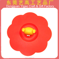 Promotional flower shape silicone pot cover