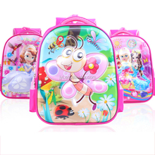 Different Cartoon Characters Kids School Bag Backpack China Suppliers