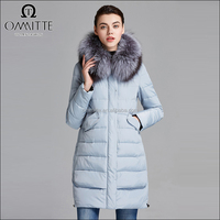 Plain Removable Hooded Fur Collar Lady Fancy Cotton Padded Coart Sample Winter Jacket for Woman