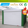 waterproof metal roof ready quick build metal storage shed