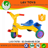 Children three wheeled bicycle plastic baby tricycle