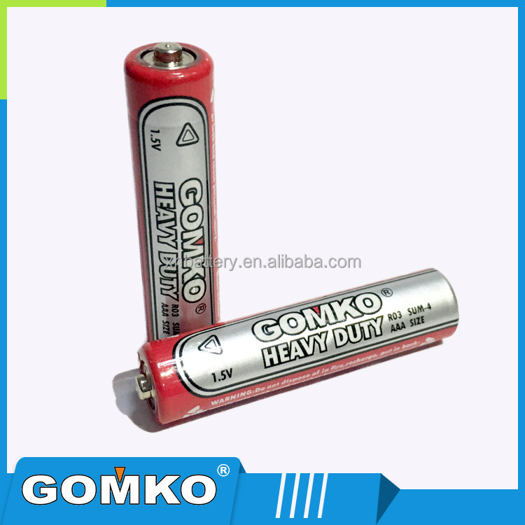 1.5v Dry battery R03, AAA size, for alarm clock