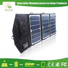 Factory price 5v 19.5w solar panel jacket