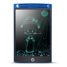 Magnetic 8.5 inch lcd writing school tablet board memo pads with stylus for kids