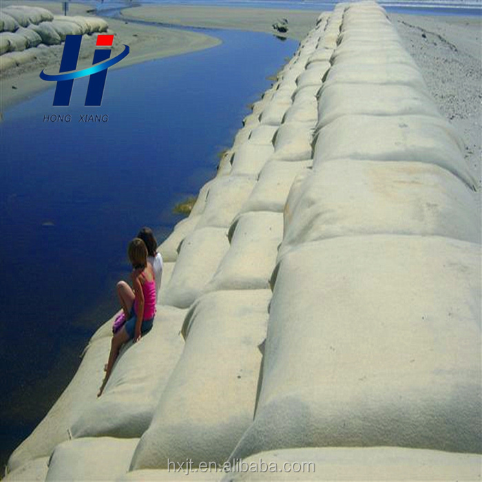 Low cost riverbank/ beach protection Non-Woven Geotextile Geobag