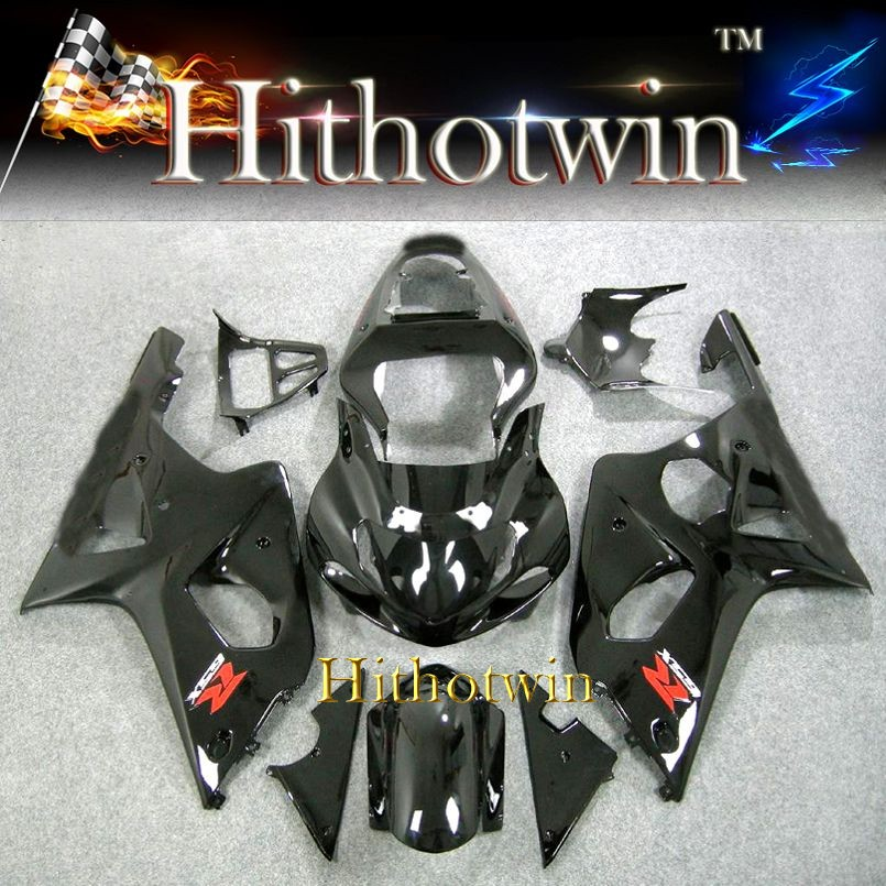 2000 2001 2002 GSXR 1000 Fairing For Suzuki black GSXR-1000 2000 2001 2002 GSXR1000 GSXR 1000 2000 2002 Fairing