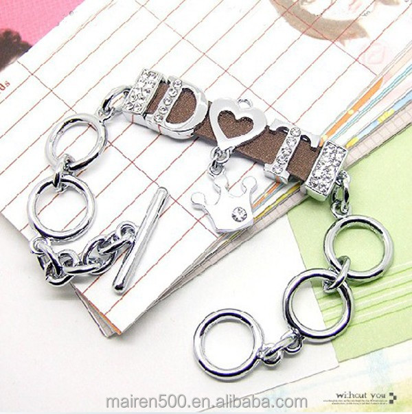 fashion jewelry slide charm 8mm 10mm 18mm letters for jewelry making