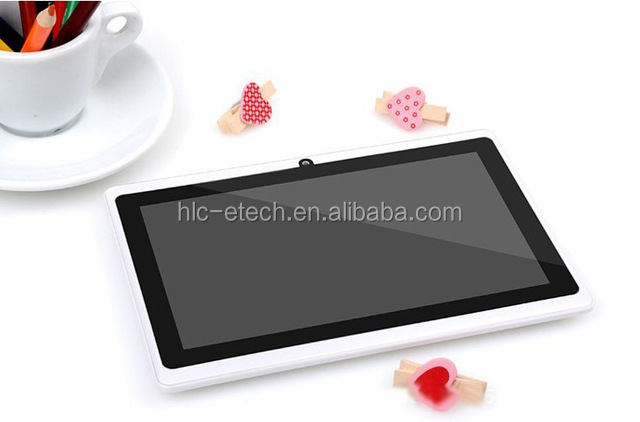 "professional!S 7"" netbook tablet Allwinner A23 quad Core Tablet double Cameras WiFi External 3G 512MB+8GB"